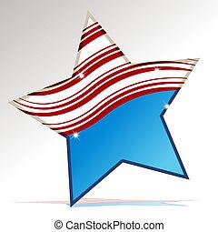patriotyczny, gwiazda