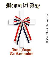 patriotyczny, memoriał, graficzny, dzień, 3d