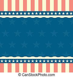 patriotyczny, pasy gwiazd, tło