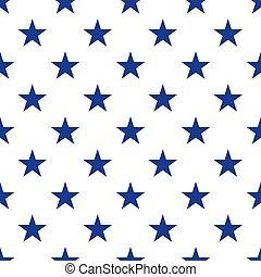 patriotyczny, próbka, seamless, usa