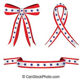 patriotyczny, wstążki