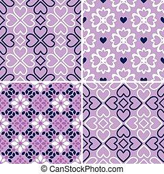 patrones, conjunto, seamless