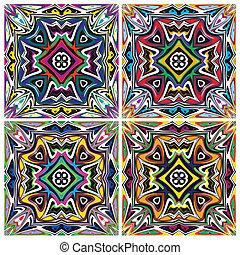 patrones, norteamericano, nativo