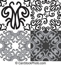 patroon, seamless, resumen