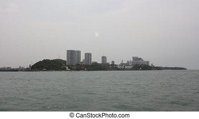 Pattaya City from boat. - Pattaya City apartments and...