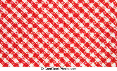patte, griglia, red/white