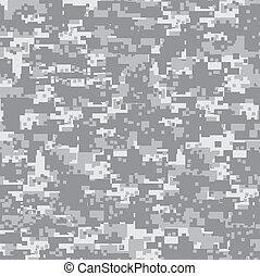 pattern., ørken, camouflage, seamless
