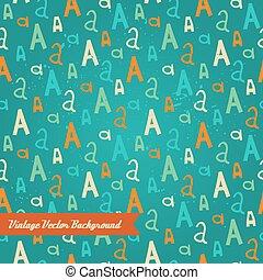 pattern., abstratos, aleatório, original, seamless