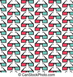 Pattern background 3d icon