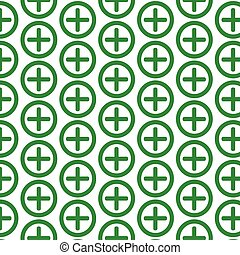 Pattern background Additional plus Icon