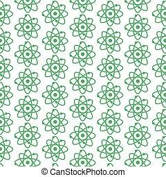 pattern background atom icon