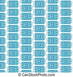 Pattern background Bomb Icon