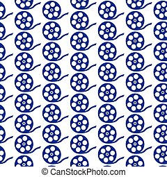pattern background Film Reel Icon
