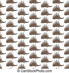 Pattern background Hedgehog icon