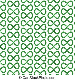 Pattern background infinity symbol icon