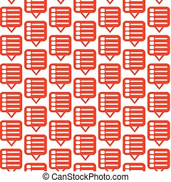 Pattern background Menu Icon