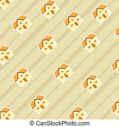 pattern background of house