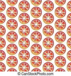 Pattern background orange icon