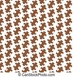 Pattern background puzzle icon
