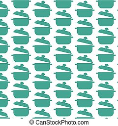 Pattern background saucepan icon
