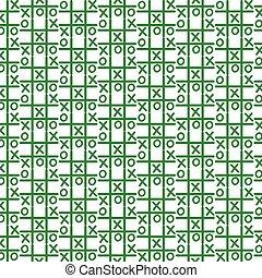 Pattern background x o icon