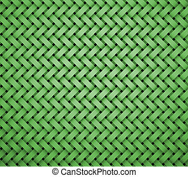 pattern brick shape middle green