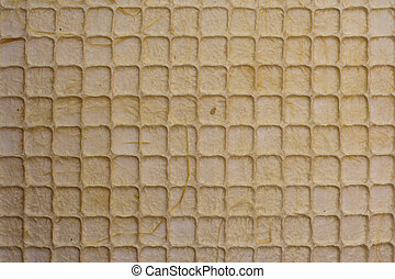 Pattern brown mulberry paper