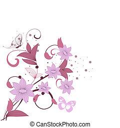 pattern burgundy