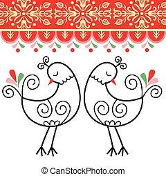 Pattern chicken