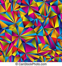 pattern., coloridos, superfície, seamless