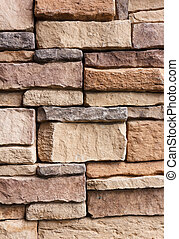 pattern cracked stone wall modern style for background