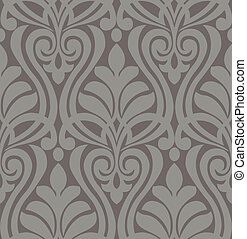 pattern damask seamless