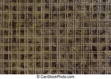 Pattern dark brown mulberry paper