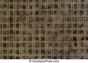 Pattern dark brown mulberry paper