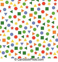 pattern design set two illustration on white background