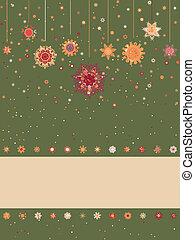 pattern., eps, retro, tło, 8, boże narodzenie