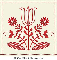 pattern folk design