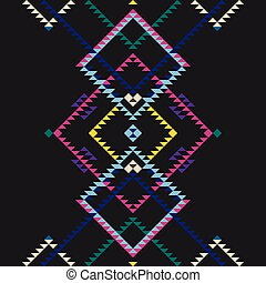 pattern folk simple background
