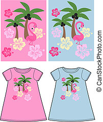 pattern for children wear
