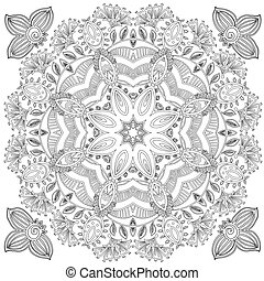 Pattern for coloring book. Coloring book pages for kids and...