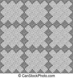 pattern from black stripes