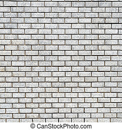 Pattern from white brick wall, vintage
