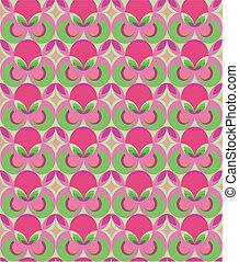 pattern geometric floral