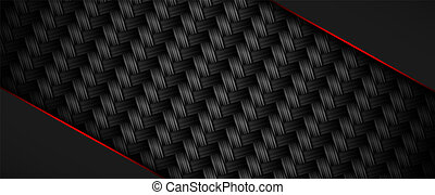 pattern., geometrický, textured, prapor, čerň