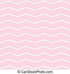 Pattern in pink zigzag