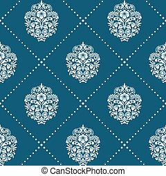 Pattern in style victorian baroque