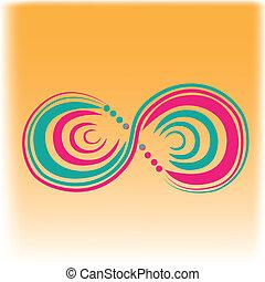 pattern is infinity