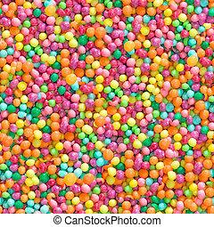 pattern., kleurrijke, versuikeren, seamless