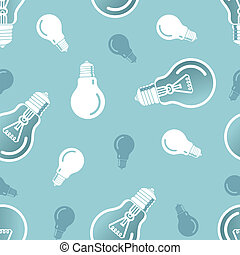 pattern., lampe, vecteur, eps10, seamless