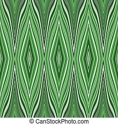 pattern., megvonalaz, seamless, hullámos, zöld white